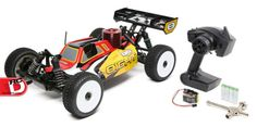 8IGHT Nitro RTR 1/8 4WD Buggy from Losi