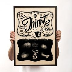 Woodprint Thirst  Dudes Factory