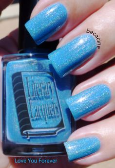 Literary Lacquers Love You Forever