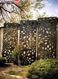 Metal privacy screen with own design My creations Pinterest