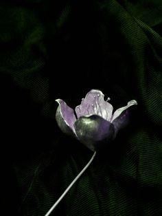 Silver#flower#handmade#jewelry#artist#dimitra karampatsou