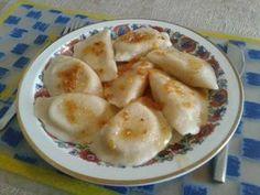 Pierogi z białą kapustą i ziemniakami Polish Recipes, Polish Food, Dumplings, Enchiladas, Pierogi, Pancakes, Food And Drink, Pizza, Cheese