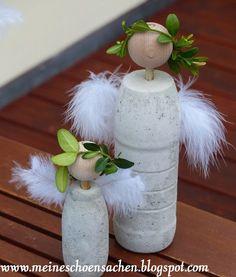 Für den Kunst- und Gartenmarkt, der heute bei uns im Städtle war, habe ich mit einem Team Sachen aus Beton gemacht. Unter anderem auch di...