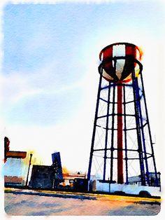Water tower - Idaho Falls