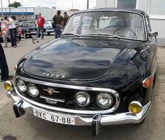 Tatra 2-603 model 1968, engine: Tatra 603G V-8 air-cooled, 2474 cc, 77,5kW