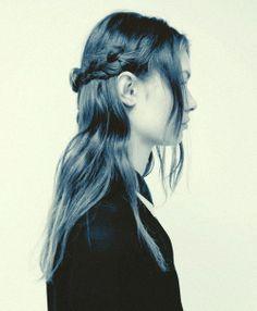 Rodarte autumn/winter 2013-2014 hair test polaroid by Autumn de Wilde