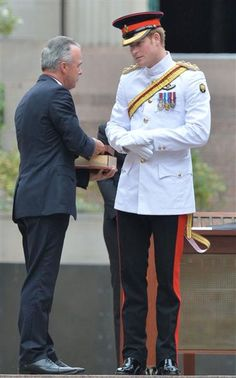 Prince Harry arrives in Australia for military duty in Canberra, Australia on April 5, 2015.