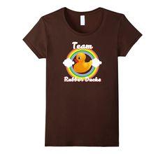 Team Rubber Ducks funny runner duckie lover T-Shirt