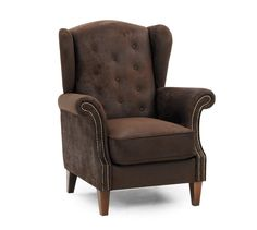 Hvilestol, recliner og suppleringsstolGeorge ørelappstolStoff mikrofiber
