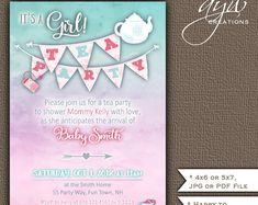 383 Best Unique Baby Shower Invitations Images In 2019 Baby Shower