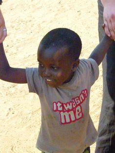 This adorable little tyke was photographed at Simonga Village which is supported by Toka Leya Camp in Zambia