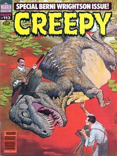 Cover for Creepy (Warren, 1964 series) #113  January 1979