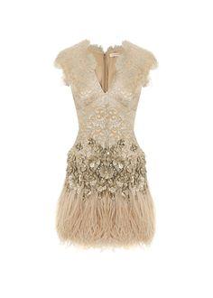 Matthew Williamson Dress   #lace #tulle #sparkle #dress