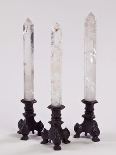 crystal candles. I love these, wish there was a link to purchase.