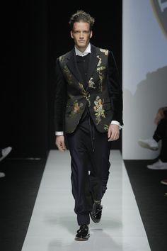 Look 35 at Vivienne Westwood #AW1516 MAN