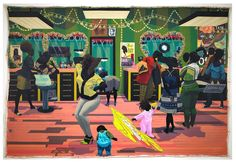 """Kerry James Marshall: """"Beauty is a phenomenological experience, and a basic component of it is intrigue."""" Kerry James Marshall: Mastry comes to MOCA March 12!  via ✨ @padgram ✨(http://dl.padgram.com)"""