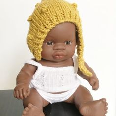 Miniland Baby Doll Bonnet | rose+dot co