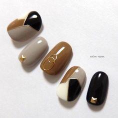 Japanese Nail Design, Japanese Nails, Gel Nail Art Designs, Nail Art Designs Videos, Gem Nails, Nail Manicure, Bling Nails, Stylish Nails, Trendy Nails
