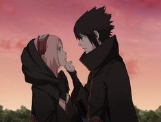 Sasuke & Sakura Fan Art #Naruto Sasusaku Love <3 <3 <3