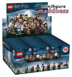 Chez Minifigure Maddness : Boite de 60 sachets LEGO Harry Potter and Fantastic Beasts en précommande: Maintenant qu'il est acquis que… #LEGO