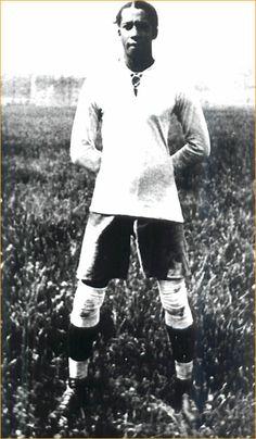 Jose Leandro Andrade - Uruguay - 1930 World Cup - 1924, 1928 Olympics.