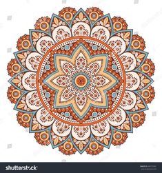Flower Mandala. Vintage decorative elements. Oriental pattern, vector illustration. Islam, Arabic, Indian, moroccan,spain, turkish, pakistan, chinese, mystic, ottoman motifs. Coloring book page Oriental Pattern, Flower Mandala, Coloring Book Pages, Mandala Design, Fractals, Mystic, Royalty Free Stock Photos, Outdoor Blanket, Vintage
