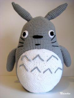 Mas de 1000 imagenes sobre Amigurumi Totoro en Pinterest ...
