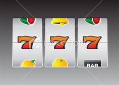 Slot Machine 1 Royalty Free Stock Vector Art Illustration