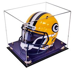 Curved Acrylic Full Size Football Display Case Wall Mount Gameday Display Clear And Distinctive Display Cases Autographs-original