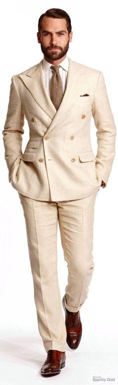 Ralph Lauren Spring 2015. Double breasted suit