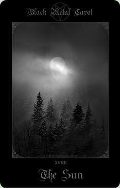 Black Metal Tarot 2 by wyldraven.deviantart.com