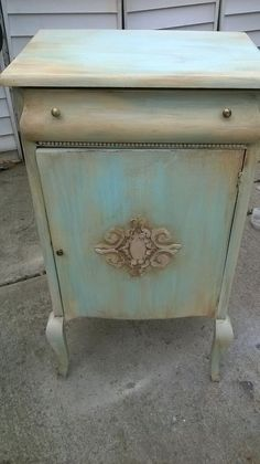 Vintage/ Antique Sheet Music Cabinet Stand