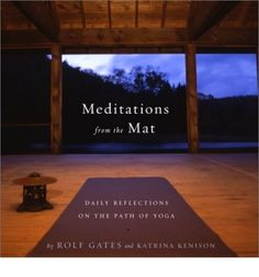 These 365 meditations offer a way to integrate the mindfulness that yoga teaches into everyday life. Whether used in the morning to set the tone for the day, during yoga exercise itself, or at the end of the day, during evening reflection, the pieces included in this book can support and enhance anyone's yoga journey. 9 halftones.