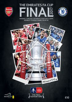 Sorry Chelsea. The Official Programm of the Emirates 2017 FA Cup Final, which will see Arsenal face Chelsea at Wembley Stadium on Saturday 27th May 2017.