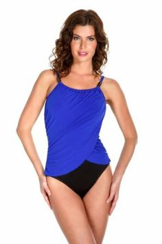 Magic Suit Women's Solids High Neck One Piece