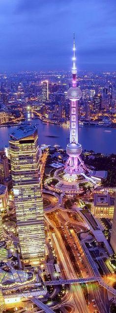 China Travel Inspiration - Frivolous Fabulous - Shanghai China Frivolous Fabulous Above The City Places Around The World, Around The Worlds, Places To Travel, Places To Visit, Travel Destinations, Holiday Destinations, Shanghai Tower, Visit Shanghai, Dubai