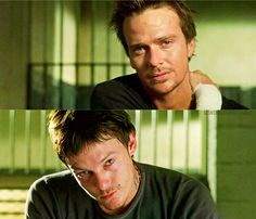 Sean Patrick Flanery & Norman Reedus (My Boondock Saints) :D