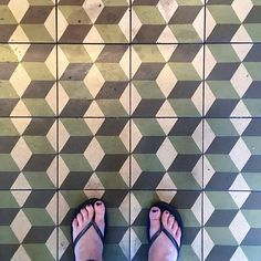 Get involved with my 'Art Beneath Our Feet' art series and tag your pretty floor and feet photos to #artbeneathourfeet where I turn the photos in to drawings and paintings   #ihavethisthingwithfloors #ihaveathingforfloors #tiles #geometric #tileaddict #tileaddiction #ihavethisthingwithtiles #green #color #colorful #shapes #3d #fromwhereistand #lookdown #flipflops #selfeet #feet #adventure #wanderer #wander #travel #berlin by artbeneathourfeet