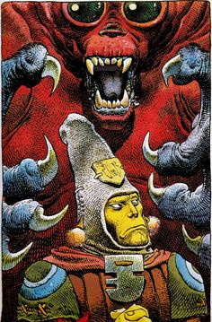 """Moebius - """"Red Monkey"""" from Arzach -1976"""