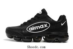 Nike Air VaporMax 2018 95 KPU Black White Women Men