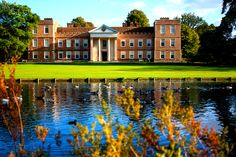 The Vyne House & Lake, frequently visited by Jane Austen Dance Academy, Tudor House, Grand Homes, Local Attractions, Penguin Random House, Country Estate, Jane Austen, Hampshire, My Dream Home