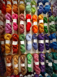 Five Moons yarns some of my favorites