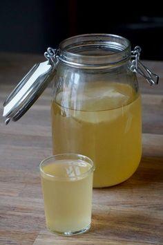 Kombucha är en fermenterad probiotisk dryck som funnits i årtusenden. I detta inlägg hittar du ett fermenterat te recept utan att behöva en kombuchasvamp. Body Detox, Kombucha, Summer Drinks, Good Mood, Kimchi, Glass Of Milk, Smoothies, Mason Jars, Clean Eating
