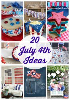 20 fabulous 4th of July Ideas