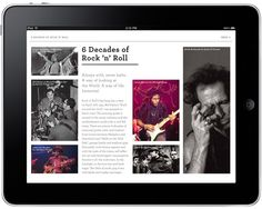 6 DECADES OF ROCK 'N' ROLL - T O M J – Graphic Design / Art Direction