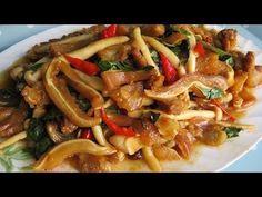 Fried Pig's Ear Delicious  Recipe (ឆាជូរអែមត្រចៀកជ្រូក) / Khmer Cooking Style - YouTube