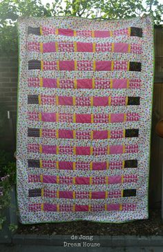 Sewing = Quilt Along Quilt Complete and Delivered! {deJong Dream House} #31
