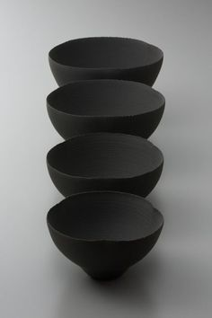 Most recent Free japanese Ceramics black Thoughts Matte Black may be naturally modern but it works well as a transitional finish too. Ceramic Tableware, Ceramic Clay, Ceramic Bowls, Ceramic Pottery, Pottery Plates, Kitchenware, Japanese Ceramics, Japanese Pottery, Japanese Bowls