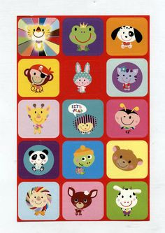These Kawaii Animal stickers are so cute! I especially like the pirate monkey. Kawaii Animal Stickers, $1.99
