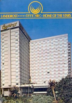 Landrost Hotel, Plein Street. Johannesburg Skyline, Those Were The Days, South Africa, Nostalgia, Southern, Hotels, African, Backyard, Memories